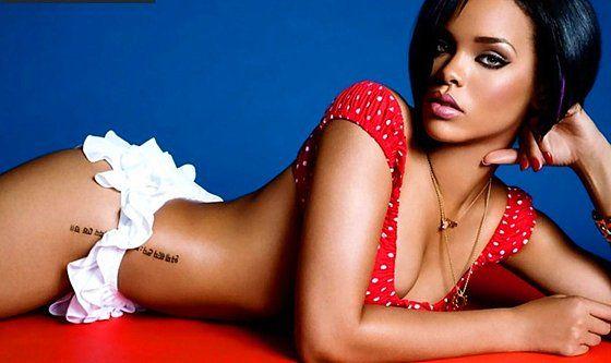 Rihanna'nın Dövmeleri Ne Anlama Geliyor? - Lucky Ink Tattoo