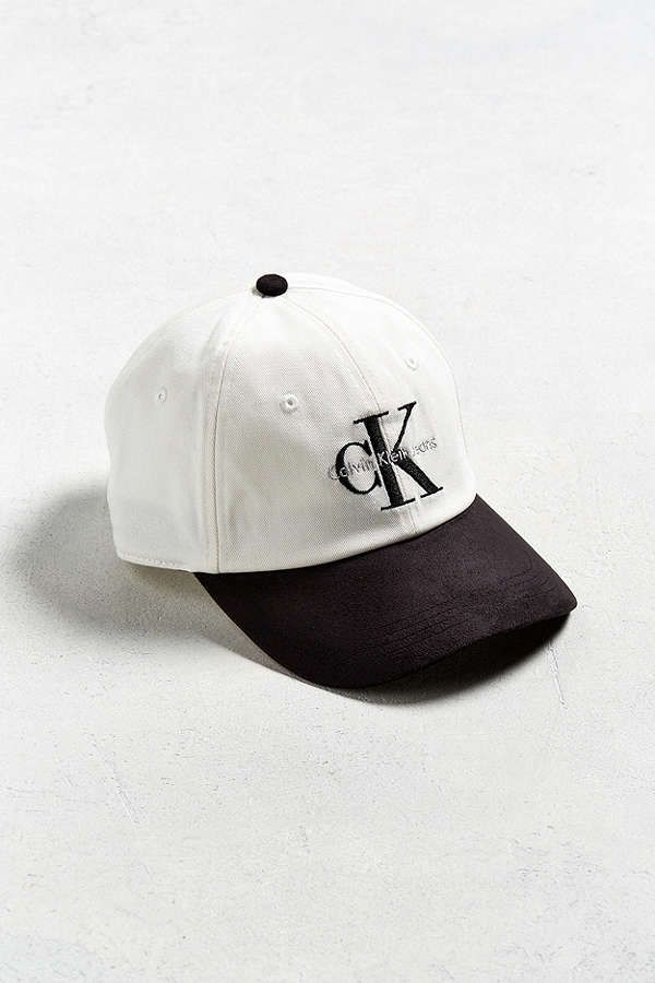 Slide View: 1: Calvin Klein Two-Tone Baseball Hat