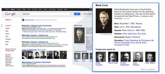 Google ha dado un nuevo movimiento por el cual va a llenar el SERP de respuestas a preguntas directas, es una tendencia que ya se venía dando desde hace un par de años (ya sabes, preguntarle la conversión de millas a metros y que directamente apareciera la equivalencia y cosas por el estilo), pero ahora han ido varios pasos más allá y, desde este mismo momento en el SERP yankee si pones nombres de personajes famosos, museos y muchas otras cosas, en la parte derecha del SERP te aparecerán un…