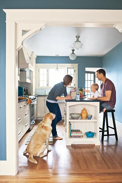 See how one less window, a wider passageway—and pro help—saved this sunny gathering spot from well-intentioned neglect. | Photo: Joe Schmelzer | thisoldhouse.com