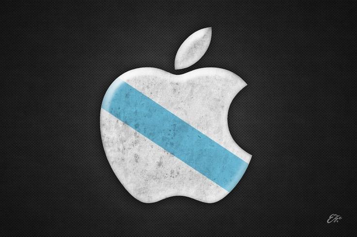 Apple aux couleurs de la Galice.