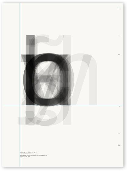 Archetype, carteles tipográficos