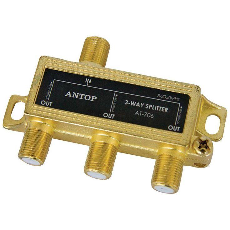 Antop Antenna Inc 3-way 2ghz Low-loss Coaxial Splitter