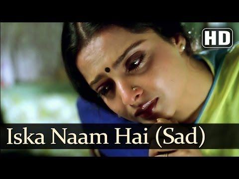 Iska Naam Hai Jeevan (HD) (Sad) - Jeevan Dhara Songs - Raj Babbar - Rekha - S P Balasubramaniam - YouTube