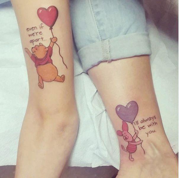 Ötletes tetoválások olyanoknak, akik nem csak anya-lánya kapcsolatban állnak, hanem legjobb barátnők is egyben.
