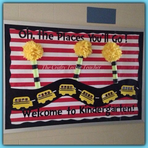 The Crafty Techie Teacher: Themes Dr. Seuss inspired Back to School bulletin board