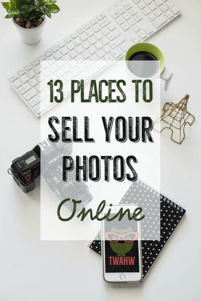 several great places to sell your photos for passive income
