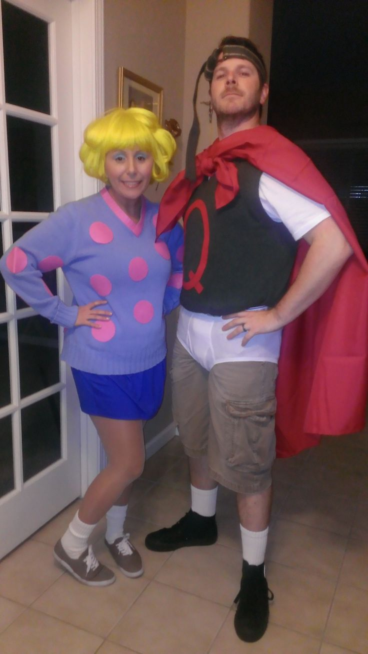 25+ bästa Quailman costume idéerna på Pinterest | Pardräkter Quailman And Patty Mayonnaise