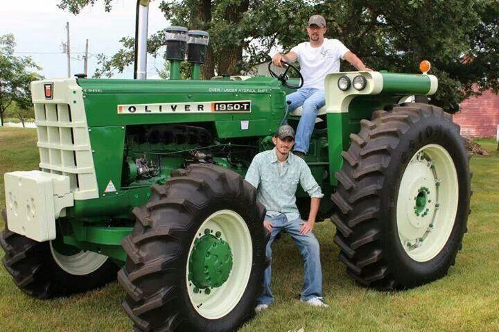 Oliver 1950 4x4 : Best oliver tractors images on pinterest old