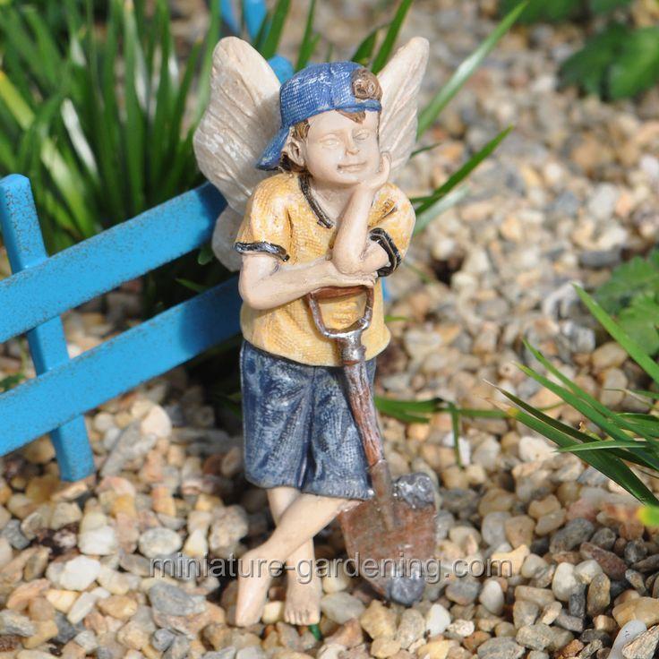 Fairy Gavin. Miniature FairiesMiniature GardensFairy ...