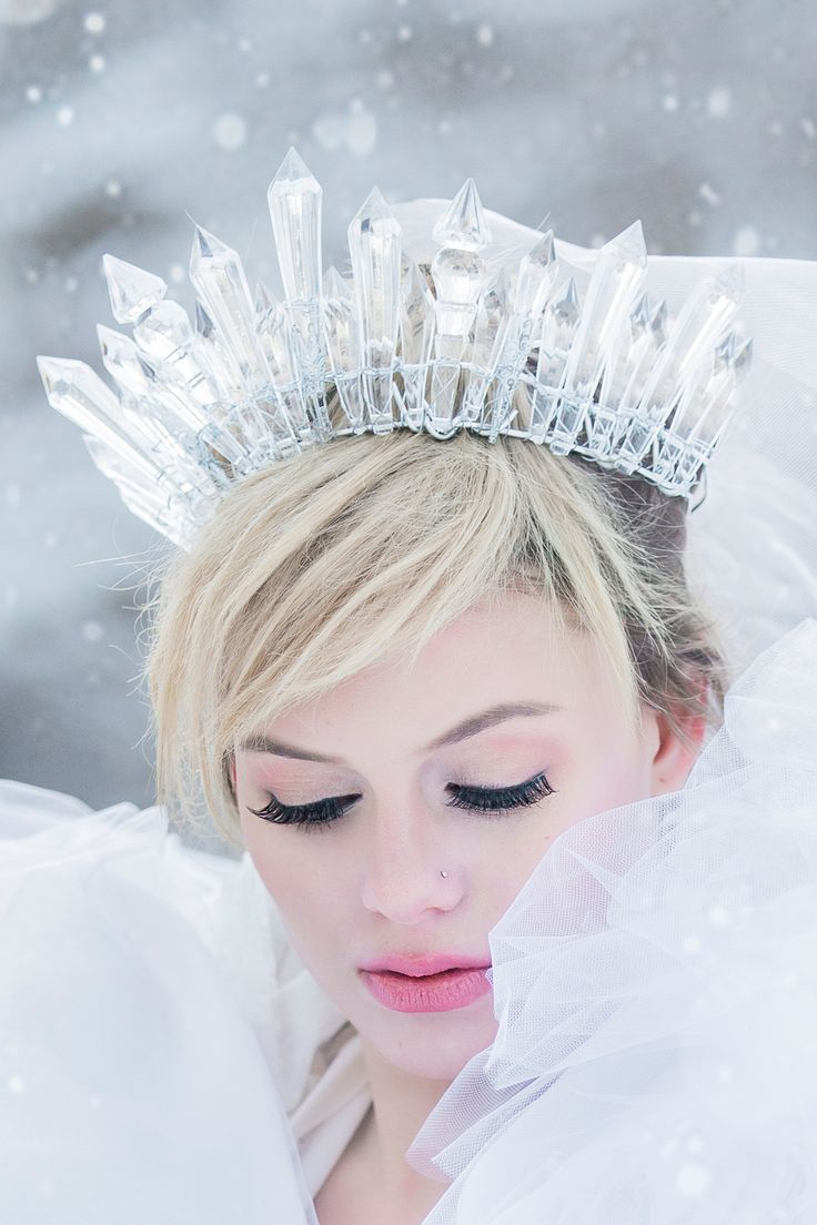 Our ELSA CRYSTAL head crown was inspired by you guessed it- QUEEN ELSA'S CROWN…