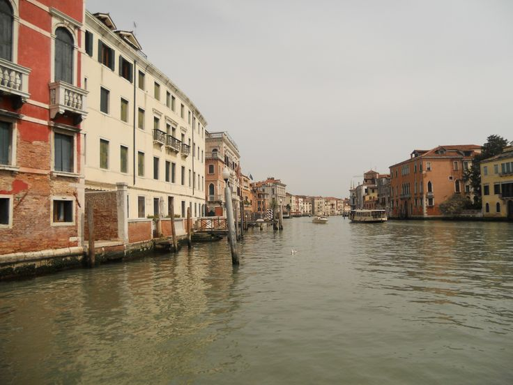 Venice from Vaporetto