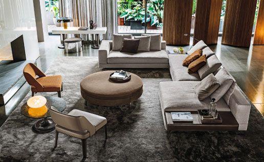 minotti living room furniture furniture furnishings. Black Bedroom Furniture Sets. Home Design Ideas