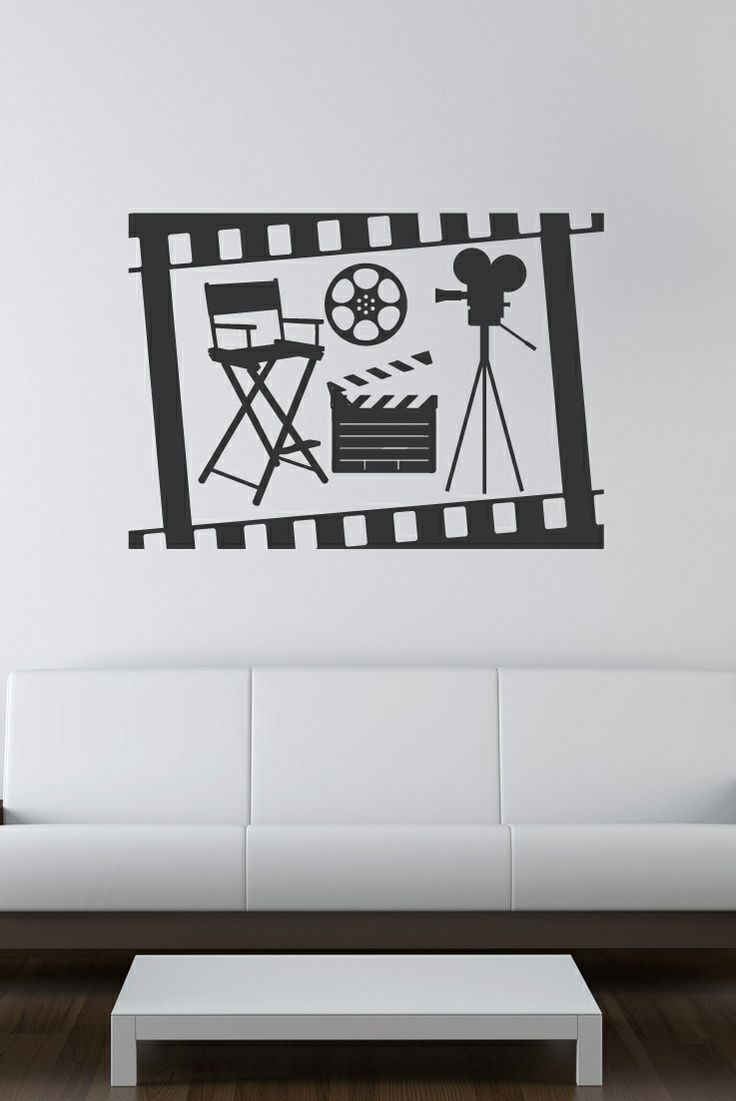 12 best Movie & Home Theater, Film & Cinema Wall Decals images on ...