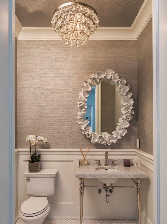 Best 25 frame bathroom mirrors ideas on pinterest - How do you frame a bathroom mirror ...