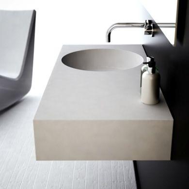 Omvivo | Neo 1000 Offset Basin | Wash Basins | Share Design | Home, Interior Design, Architecture, Design Ideas & Design Inspiration Blog