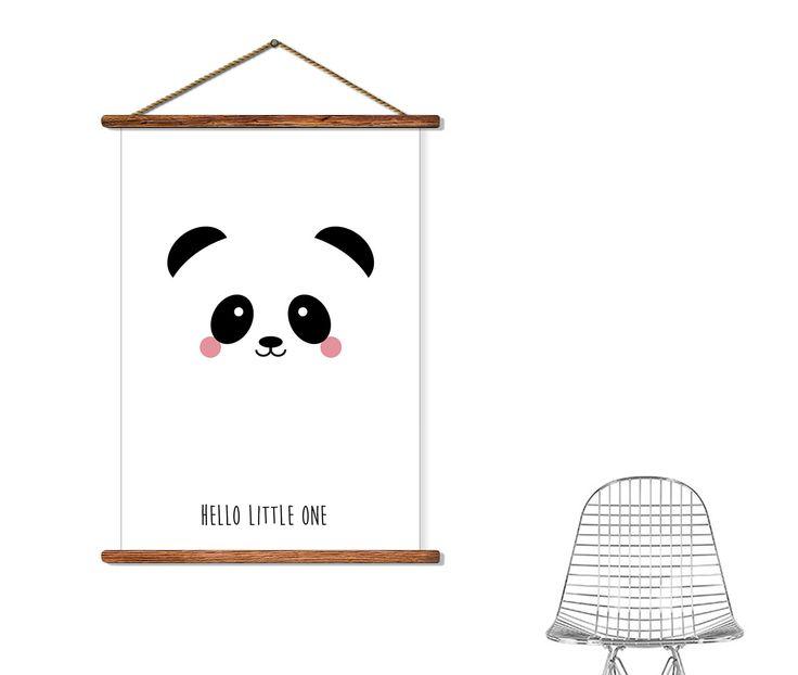 studio inktvis Poster-panda-hip