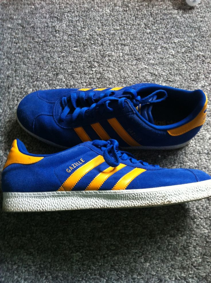 adidas gazelle indoor blue yellow