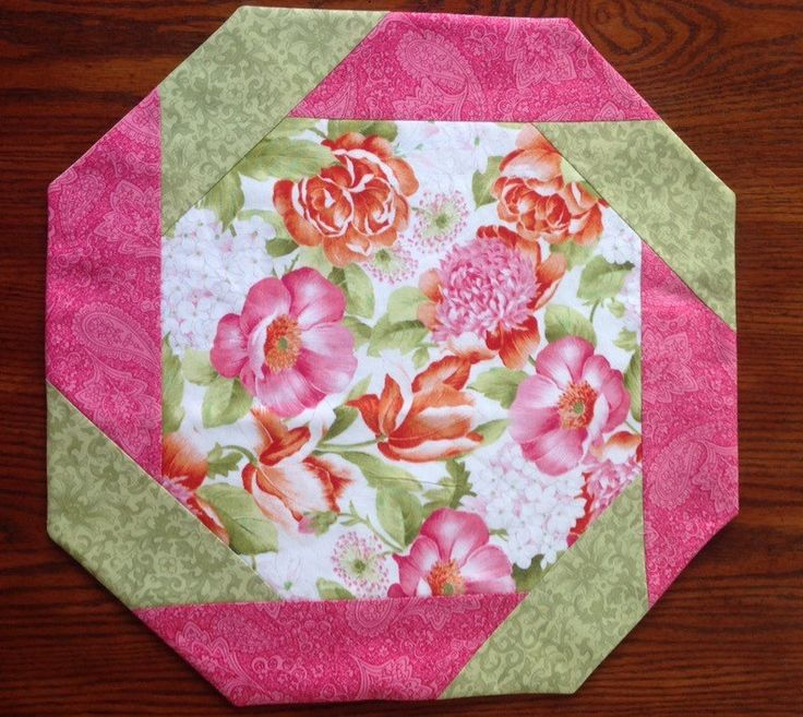 Spring is Coming...Floral Table Topper, by AlidanCreations on Etsy
