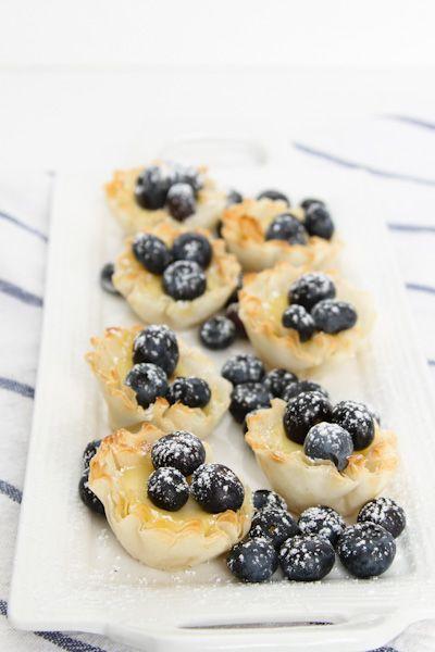 Lemon Blueberry Spring Treats