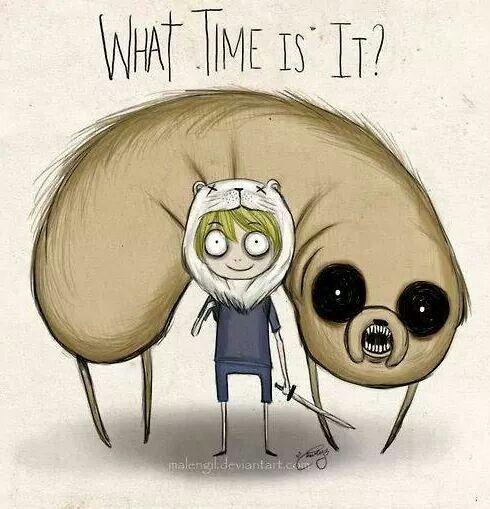 E se hora de aventura fosse criado por Tim Burton..