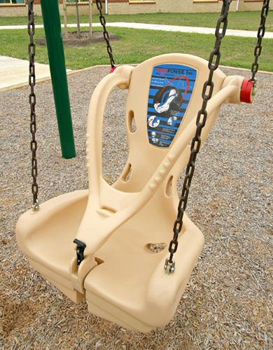 Little Tikes inclusive swing...I love this!!
