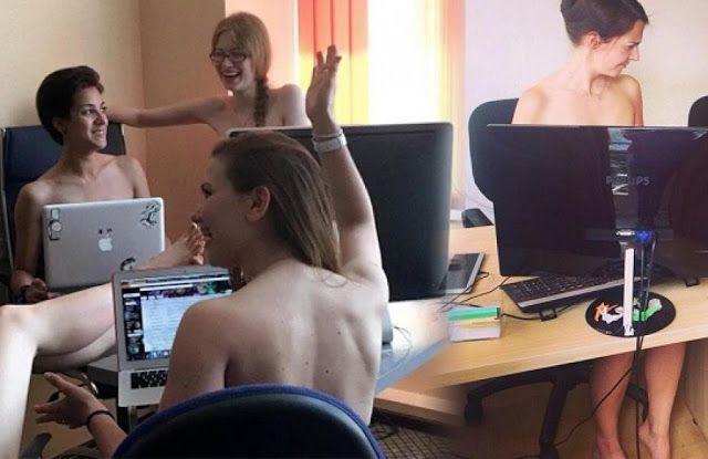 UNIK: Di Negara ini semua orang bekerja dengan telanjang bulat