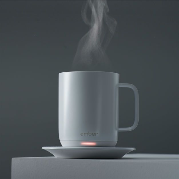 Ember Ceramic Mug In Color White Mugs Ceramic Mug Ceramics