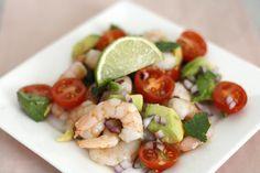 Skinny Six: Garnalen-avocado salade | Chickslovefood.com | Bloglovin'