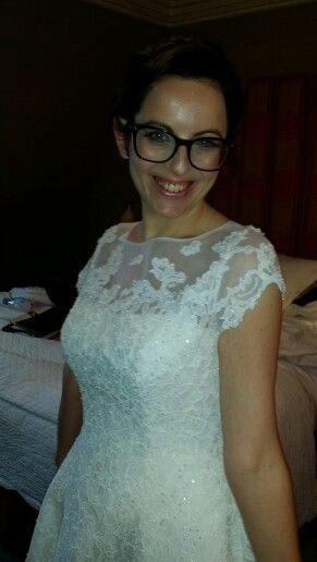 Bridal hair and makeup look by rubybmakeup