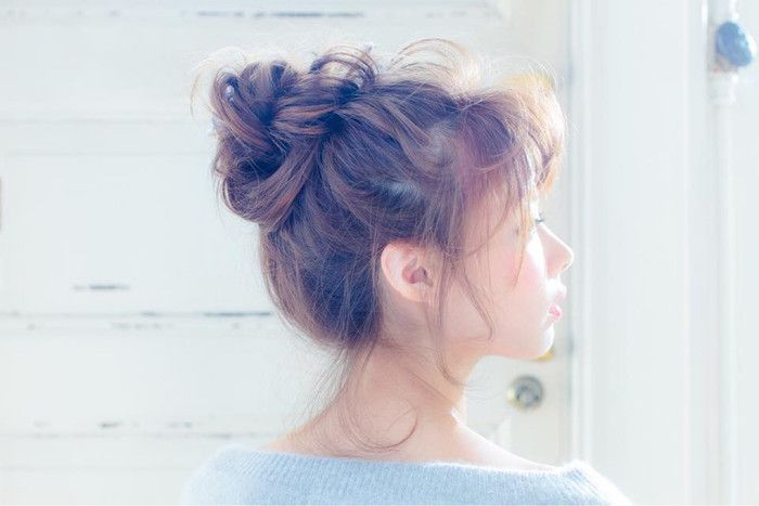 髪の長さ別!ささっときっちりまとめ髪♪運動や家事をするにも便利だね
