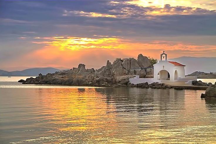 Chios island, Agios Isidoros, Greece    by Apostolos flioukas
