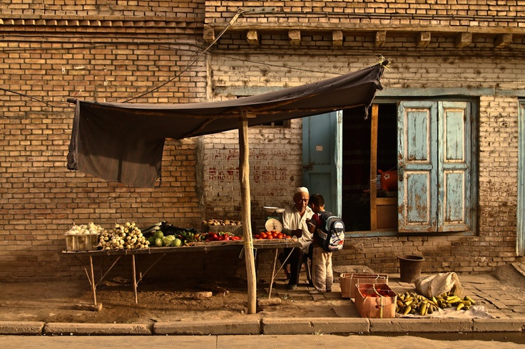 Kashgar, Silk Road, China. [blog idea] 5 unusual markets to visit this autumn.