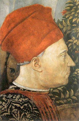 Benozzo Gozzoli - detail, head of GIOVANNI di Piero De' Medici, detto il gottoso #TuscanyAgriturismoGiratola