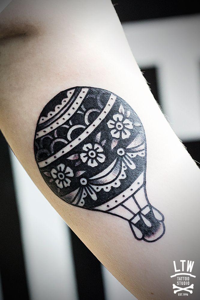globo aerostatico tattoo - Buscar con Google