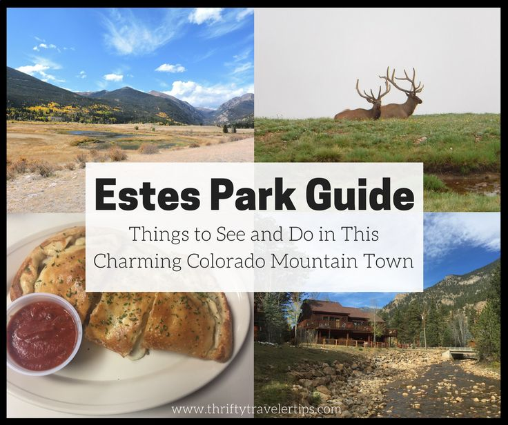 If you're planning a trip to Estes Park, Colorado soon, you'll want to check out this Estes Park guide. We share our favorite spots in Estes Park with you.