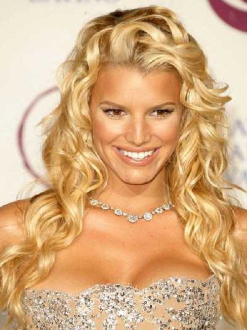 Best Jessica Simpson Hairstyles: Jessica Simpson Formal Hairstyles ~ Celebrity Hairstyles Inspiration