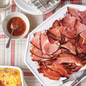 Must-Make Holiday Hams | Holiday Ham with Apricot Glaze | MyRecipes #Holidays