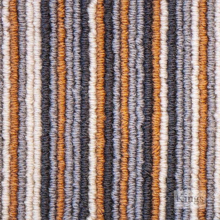 #Westex #Carpets #Cambridge Stripe #Carpet  www.kingsinteriors.co.uk/flooring/striped-carpet