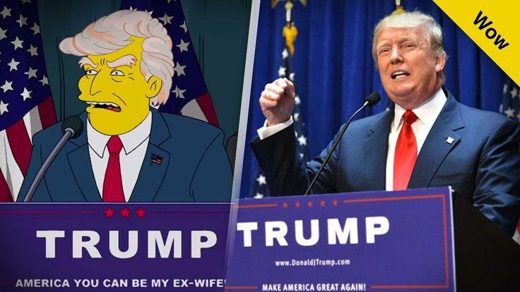The Simpsons Trump President Full Episode 9