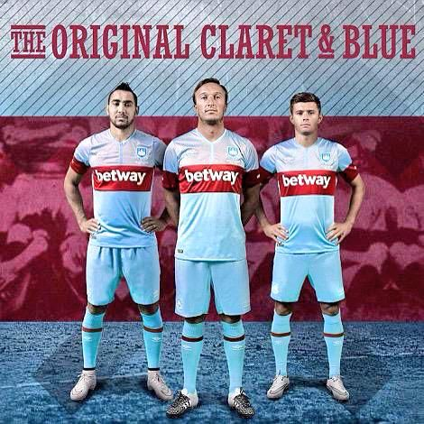 West Ham 2015/6 Away