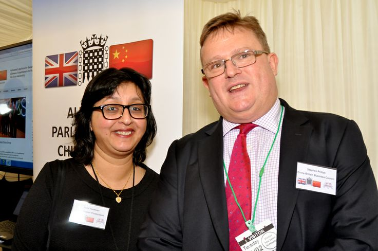Richard Graham MP - Chairman of the All Party Parliamentary China Group (APPCG) with Refat Yasmeen from Spidervision Productions