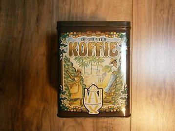 De Gruyter Koffie blik.