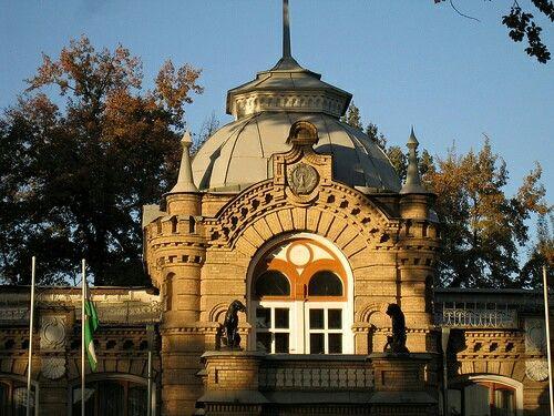"The Romanov Palace in Tashkent. ""AL''"