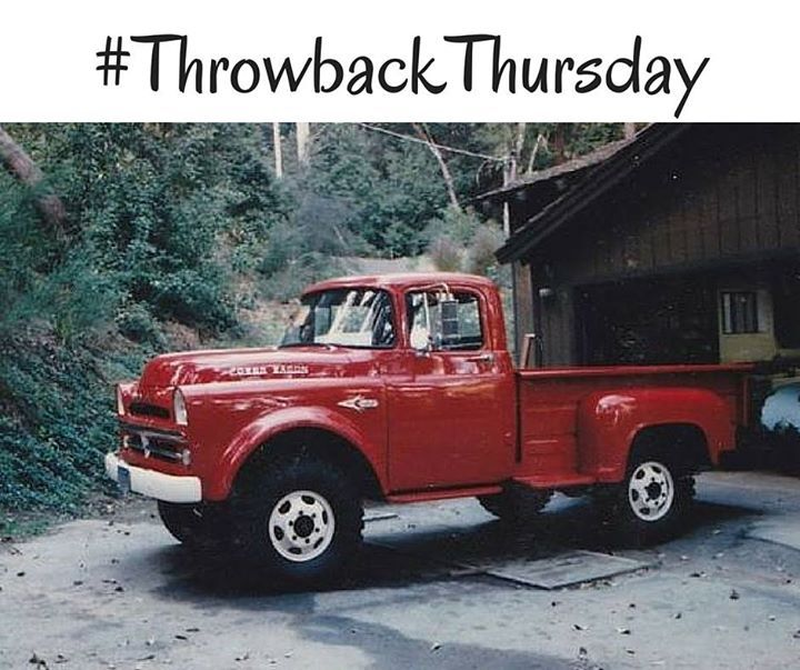 This 1957 RAM Power Wagon is simply stunning! #TBT