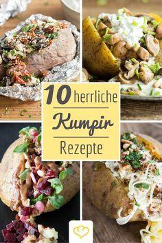 10 köstliche Rezepte für Kumpir-Kartoffeln: Füllung rein, glücklich sein! Denn unter diesem Motto genießen Kartoffelliebhaber in der Türkei die gelbe Knolle am liebsten.