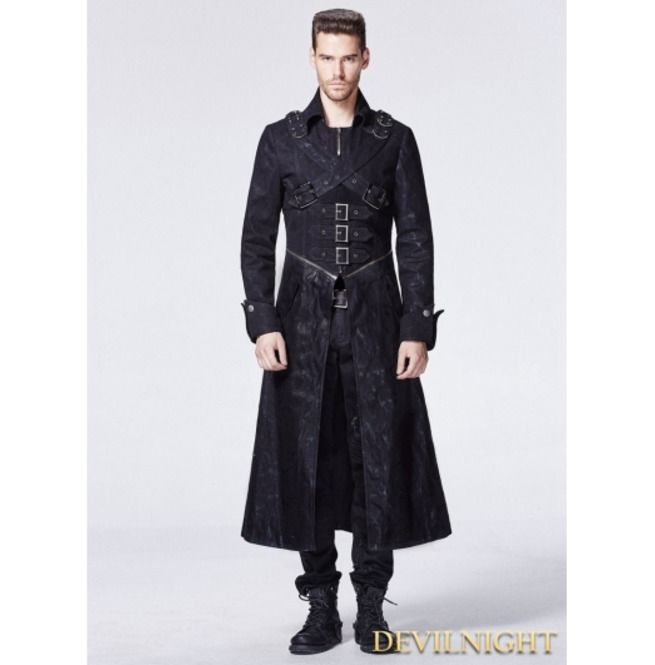 Top 25  best Long trench coat mens ideas on Pinterest   Trench ...