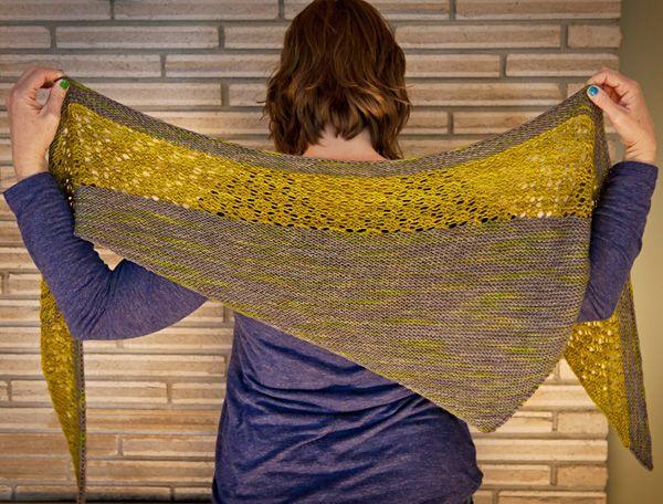 MES FAVORIS TRICOT-CROCHET: Modèle tricot gratuit : Le châle Zaria …