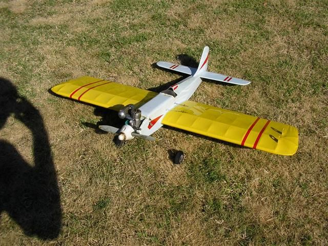 Aeroflyte Stuntmaster Thunder Tiger 25. Picture courtesy of   Alwyn Smith.