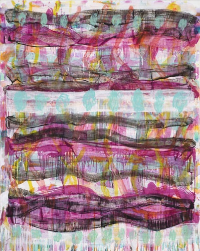INGRID JOHNSTONE  'Breeze'  2009  oil on linen  153 x 122 cm